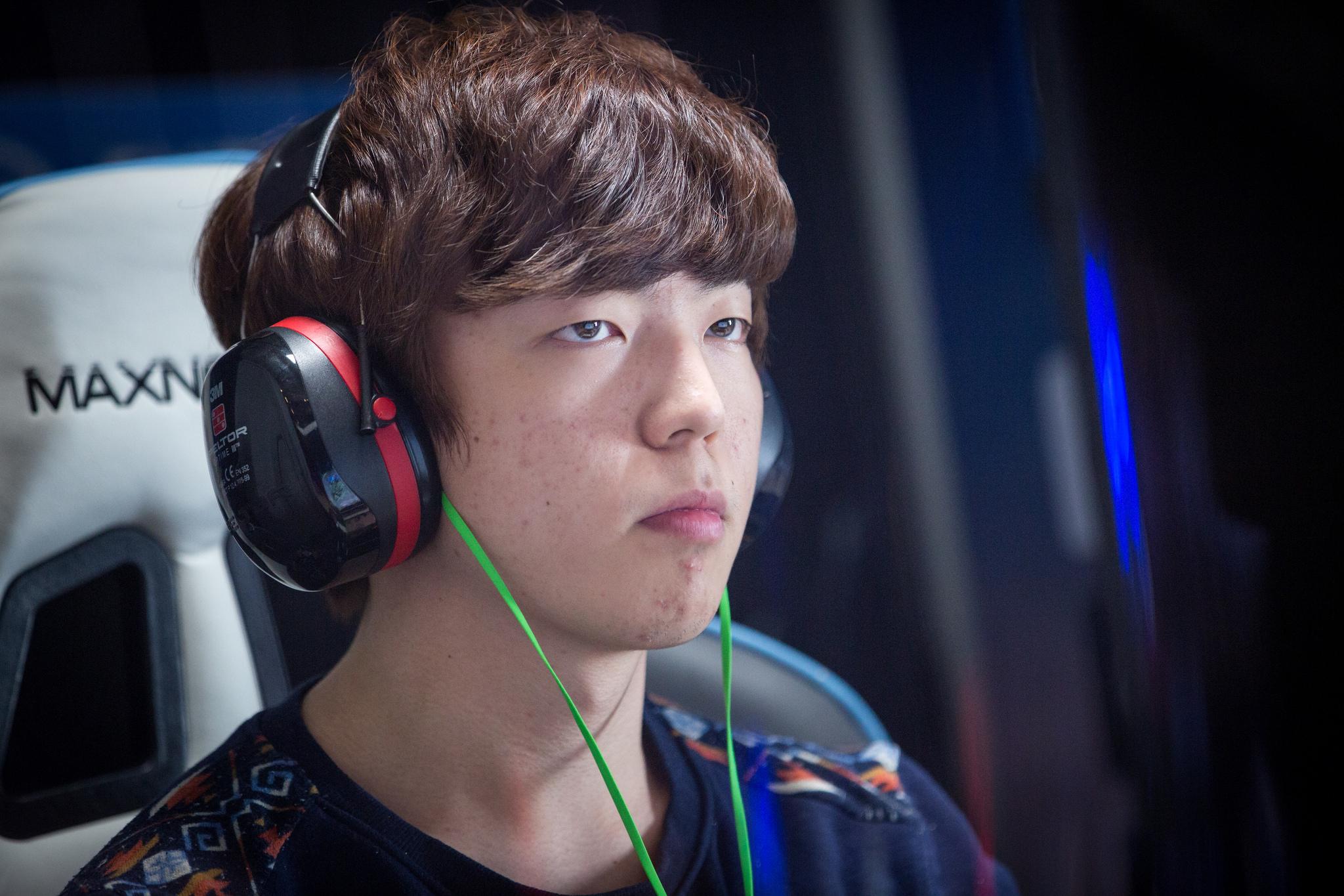 Lee 'Life' Seung Hyun at IEM World Championship 2015