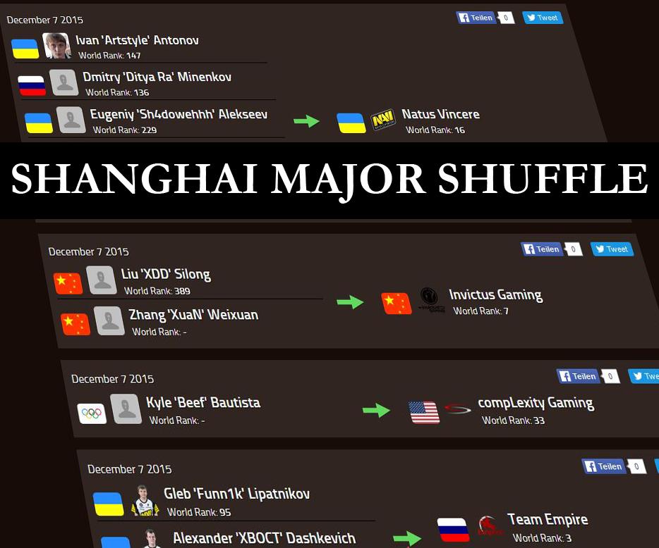 Shanghai Major Shuffle