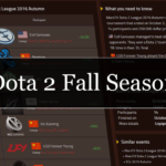 Dota 2 Fall Season